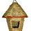 Gardman Woven Rope W/Roof Roosting Pocket - Natural - 6X6X8 Inch