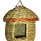 Gardman Woven Rope Acorn W/Roof Roosting Pocket - Natural - 6X6X8 Inch