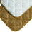 Midwest Deluxe Quilted Reversible Mat - Tan/White - 42X27 Inch