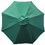 Bond Wooden Market Umbrella, Green, 9 Foot