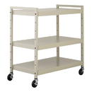 BUDDY PRODUCTS 5417-6 Utility Cart, Putty