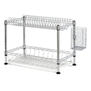 BUDDY PRODUCTS WDR101812 Wire Dish Rack, Chrome