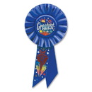 Beistle RS089 The Greatest Rosette