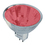 Bulbrite FTD/R 20-Watt Dimmable Halogen MR11, GU4 Base, Red