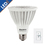 Bulbrite LED14PAR30NF/L/30K/D 14-Watt Dimmable LED PAR30, Medium Base, Soft White