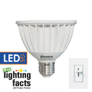 Bulbrite LED14PAR30NF/40K/D 14-Watt Dimmable LED PAR30, Medium (E26) Base, Cool White