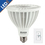 Bulbrite LED20PAR38NF/30K/D 20-Watt Dimmable LED PAR38, Medium Base, Soft White