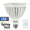 Bulbrite LED20PAR38WFL/40K/D 20-Watt Dimmable LED PAR38, Medium (E26) Base, Cool White