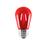 Bulbrite LED2S14/RED/FIL 2-Watt LED S14 Sign Bulb, 10W Equivalent, Medium Base, Red