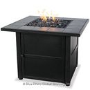 UniFlame GAD1399SP Lp Gas Outdoor Firebowl With Slate Tile Mantel