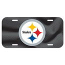 Wincraft Pittsburgh Steelers Logo NFL Vinyl License Plate Wincraft -