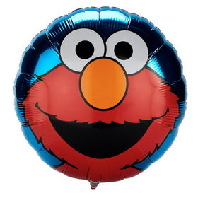 Party Destination 17827 Hooray for Elmo Foil Balloon
