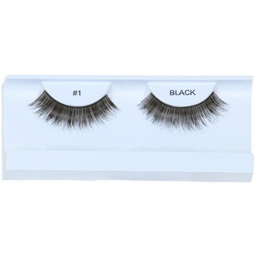 Garland Beauty E1 Black Eyelashes with Case