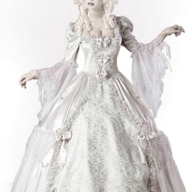 In Character Costumes 1084S Ghost Lady Elite Collection Adult Costume, Display Size: Small