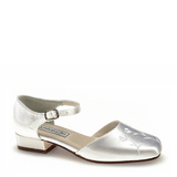 Touch Ups by Benjamin Walk Women's  Penny Shoes Satin White