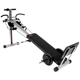 Bayou Fitness Light Institutional Total Trainer Power Pro Home Gym (Black)