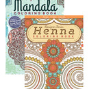 Bazic Products 11812-48 Henna & Mandala Coloring Book For Adults