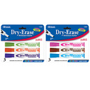 Bazic Products 1249-144 Bright Color Chisel Tip Dry-Erase Markers (3/Pack)