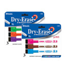 Bazic Products 1254-144 Bright Color Magnetic Dry-Erase Markers (3/Pack)