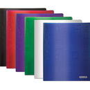 Bazic Products 2139-48 Cubic Embossed Multi Color 2-Pockets Poly Portfolio