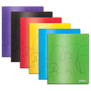 Bazic Products 2140-48 Swirl Embossed Multi Color 2-Pockets Poly Portfolio
