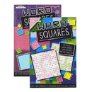Bazic Products 3317-24 Kappa Word Squares Word Finds Puzzle Book - Digest Size