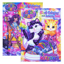 Bazic Products 48925-48 Lisa Frank Giant Coloring & Activity Book