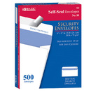 Bazic Products 5064-5 #10 Self-Seal Security Envelope (500/Box)