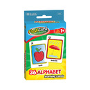 Bazic Products 548-24 Alphabet Preschool Flash Cards (36/Pack)