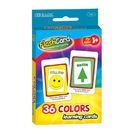 Bazic Products 549-72 Colors Preschool Flash Cards (36/Pack)