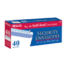 Bazic Products 575-24 #10 Self-Seal Security Envelope (40/Pack)