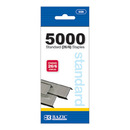 Bazic Products 608-24 5000 Ct Standard (26/6) Staples