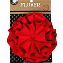 Canvas CVS3355 Canvas Flower - Red