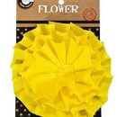 Canvas CVS3377 Canvas Flower - Yellow