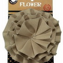 Canvas CVS3379 Canvas Flower - Tan