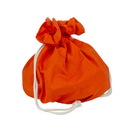 Canvas CVS3506 Orange Canvas Cinch Tote