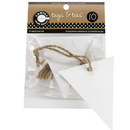 Canvas TAG1080 Tags & Ties Triangle - White (10)