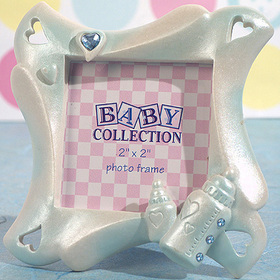 Cassiani Collection 1716 Cute Baby Bottle Frame Favor