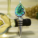 Cassiani Collection 3015 Murano Art Deco Collection Tear Drop Design Wine Stopper