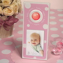 Cassiani Collection 4101 Pink and White dot photo frame