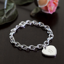 Cathy's Concepts 1510 Personalized Heavy Weight Charm Bracelet