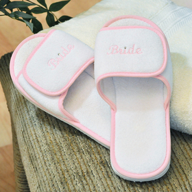 Cathy's Concepts 1778MLB Terry Cloth Bride Slippers