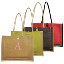 Cathy's Concepts 2134R Red Personalized Newport Jute Tote