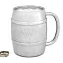 Cathy's Concepts 2910 Personalized 14 oz. Double-Wall Beer Keg Mug