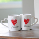 Cathy's Concepts 3600H Personalized Heart Mugs