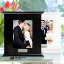 Cathy's Concepts 3919B Black Reception Card Holder Photo Box