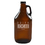Cathy's Concepts DL-2215 Personalized Drink Local Craft Beer Amber Growler