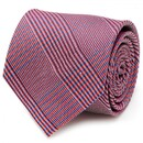 Ox and Bull OB-RDBGPL-TR Red And Blue Glen Plaid Silk Tie