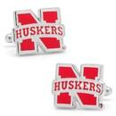 NCAA PD-NCH-SL University Of Nebraska Cornhuskers Cufflinks