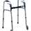 "Complete Medical Supplies Walker Folding Trigger Release Adult with 5"" Wheels (Drive)"